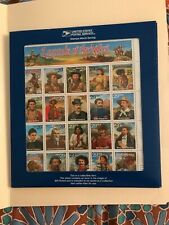 US Sc 2870 MNH OG 1994 29c Recalled Legends of the West ERROR sheet in Blue Pack