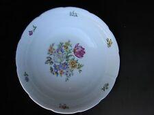 Vtg Europa Bouquet Fine Porcelain Round Serving Bowl