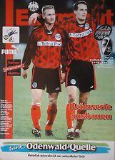 Programm 1995/96 SG Eintracht Frankfurt - SC Freiburg