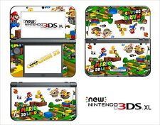 SKIN STICKER - NINTENDO NEW 3DS XL - REF 176 SUPER MARIO LAND 3D
