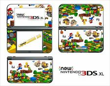 PELLE STICKER - NINTENDO NUOVO 3DS XL - RIF. 176 SUPER MARIO LAND 3D