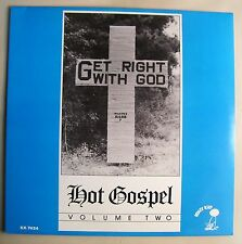 Hot Gopsel Get Right With God Vol 2 LP Radio Four~Violinaires~Blues ~Krazy Kat