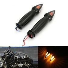 "Motorcycle 1""Handlebar Hand Grips Turn Signals for Harley Sportster Dyna Softail"