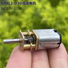 Dc 3v 12v 280rpm Slow Speed Mini 030 Full Metal Gearbox Gear Motor Diy Robot Car