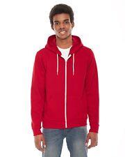American Apparel- NEW Zip Hoodie Flex Fleece Hooded Sweatshirt XS-2XL FREE SHIP