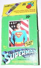 Superman the Movie Series 2 Empty Card Box