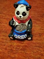 NABISCO CLASSICS COLLECTION PANDA BEAR EATING OREO CERAMIC COOKIE JAR