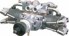 New SAITO Twin Engine FA-182TD for Model Airplane Aircraft 4 stroke 2 cylinder