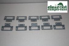 10 x Flush/Butt Hinges for Vohinger 15mm Ply, Campervan/MotorHome Furniture
