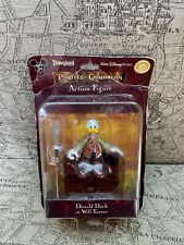 Disney Parks Pirates of the Caribbean Donald Duck As Will Turner Figurine Nib