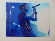 """""""Trapt"""" Chris Taylor Brown Hand Signed 10X8 Color Photo Todd Mueller COA"""