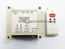 Motor Wireless remote control Forward reverse PWM speed control Limit Switches