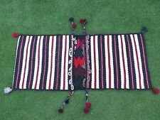 Persian Carpet camel Saddle bag Rug, Handmade Vintage Beautiful Saddle bag