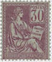 """FRANCE STAMP TIMBRE N° 115 """" MOUCHON 30 C VIOLET """" NEUF x TB"""