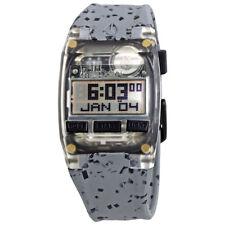 Nixon Comp S Grey Rubber Ladies Watch A336-2101-00