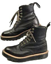 "Dr. ""Doc"" Martens Vintage black leather boots. Women's 6 (UK 4) Made in England"