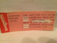 George Thorogood Concert Ticket Stub 7-2-1988 Toronto