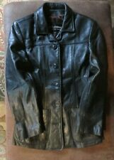 VINTAGE Wilson Leather Women's Jacket-Size S-Super heavy & thick leather