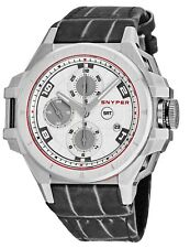 Strap Swiss Automatic Watch 50.000.00 Snyper Men's Iron Clad Chronograph Leather