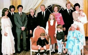 President Carter with his Family