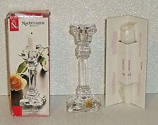 """Nachtmann Candle Holder Bleikristall Crystal Taper NEW In Box 5.75"""""""