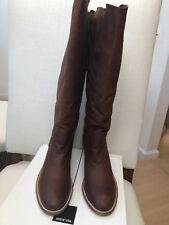 Dolce Vita Gage Brown Leather Boots NWT Size 12