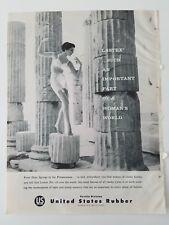 1960 u.s. United States rubber women's girdle Peloponnesus vintage ad