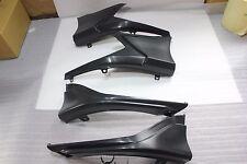 Rear Skirt Rear Bumper Lip Spoiler Splitter for Honda Civic 16-17 Body Kit