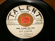 BEN HARPER - HERE COMES MY GAL - DRIVEWAY BLUES  / LISTEN - MOD R&B POPCORN