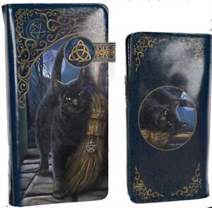 Nemesis Now A Brush With Magic   Embossed Purse Wiccan Pagan Gift