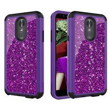 For LG Stylo 3 / Stylo 4 Shockproof Rubber +PC Hard Back Hybrid Phone Case Cover