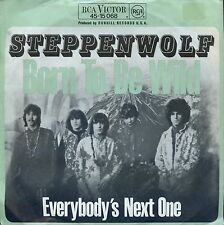 7inch STEPPENWOLF born to be wild GERMAN EX +PS