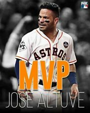 "MLB BASEBALL HOUSTON ASTROS JOSE ALTUVE 13""X19"" SIZE POSTER PRINT ART #1"