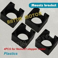 4Pcs Nema23 Stepper Motor Mount Bracket Clamp For CNC Router Milling Machine