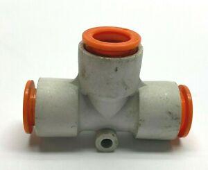"SMC KQ2T13-00 Union Tee Fitting 1/2"" Tube LOT OF 10"