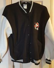Vintage Disney Mickey & Co Black & White Jacket Adult Size Small