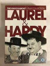 Laurel and Hardy Knockabout Coll' DVD Great Guns/Jitter Bugs..NEW Sealed P8
