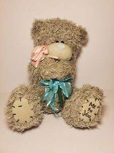 Me To You With Love Bear With Pink Rose