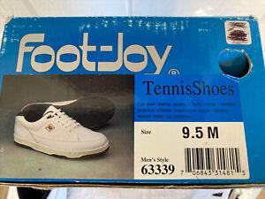 Foot-Joy Tennis Shoes 9.5 M Mens #63339 Brand New In Box.