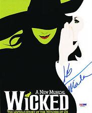 "Kristin Chenoweth SIGNED 8x10 Photo wrote ""Glinda"" Wicked COA"