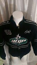 vtg NASCAR AMP Energy 88 Dale Jr National Guard Jacket WINNERS CIRCLE Coat sz L