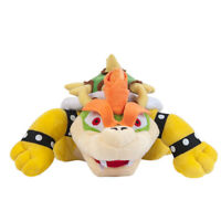 Super Mario Bros. 10 In King Koopa Bowser Soft Plush Doll Toy Kids Gift