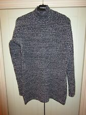 GAP LONG STYLE TURLE NECK JUMPER  BLUE & WHITE SIZE XS