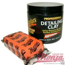 Meguiars Professional Aggressive Car / Motorbike Paintwork Cleaning Clay Bar