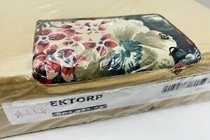 Ikea EKTORP 3-Seat Sofa Slipcover COVER ONLY Lingbo Multicolor Floral - NEW