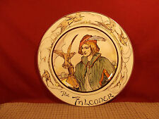 """Royal Doulton The Professionals Series Plate 10 1/2"""" The Falconer D6279"""