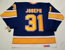 CURTIS JOSEPH - size MEDIUM - St. Louis Blues CCM 550 1992-1994 VINTAGE Jersey