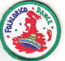 """""""FOLKLORICO DANCE"""" PATCH- Iron On Embroidered Applique/Dance, Music, Party"""