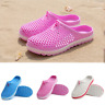 UK Mens Women Slippers Hollow Beach Sandals Clogs Holiday Garden Hole Shoes 4-7