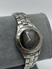 Movado Ladies Museum Black 26mm Wristwatch 84E41853, Stainless Steel, #254